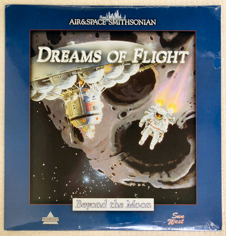 Dreams of Flight Series: Beyond The Moon - Laserdisc - Front Cover