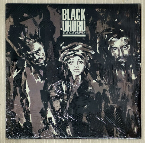 Black Uhuru ‎– The Dub Factor - Front Cover - Vinyl Record