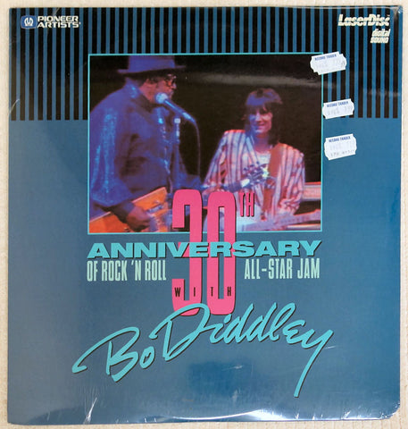Bo Diddley 30th Anniversary Rock N Roll - Laserdisc - Front Cover