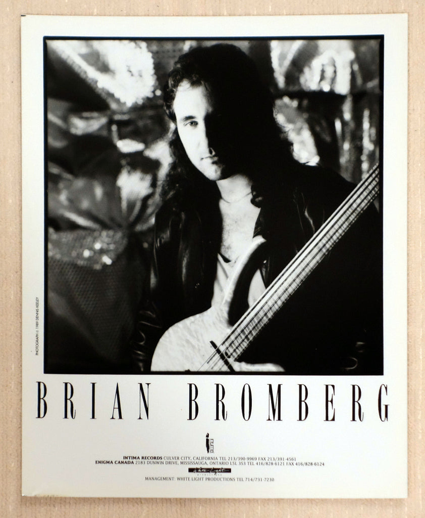 Brian Bromberg - Intima Records - Promotional Photo
