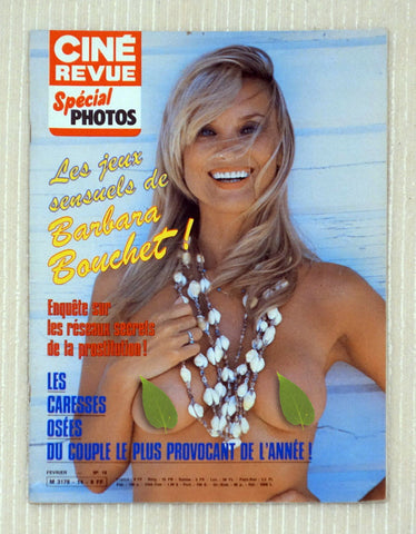Cine Revue Special Photos Edition - Barbara Bouchet - February 1983 Issue 14