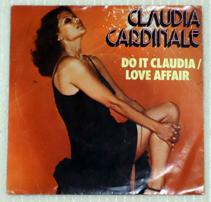 Claudia Cardinale ‎– Do It Claudia - Love Affair - Front Cover - Vinyl Record
