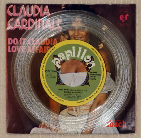 Claudia Cardinale ‎– Do It Claudia - Love Affair - Side B - Vinyl Record