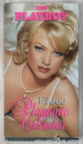 Playboy Video Playmate Calendar 2000 - VHS Tape - Front Cover