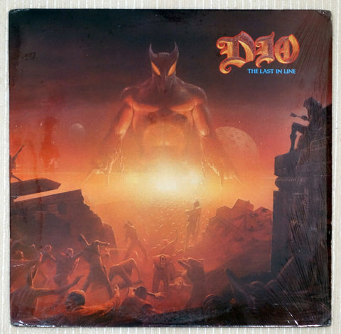Dio ‎– The Last In Line - Front Cover - Vinyl Record