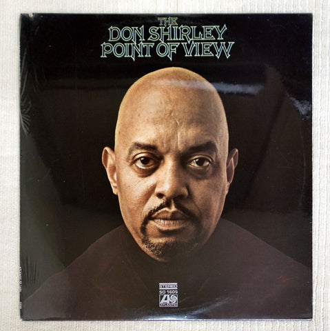Front album cover to the Don Shirley vinyl record The Don Shirley Point of View.