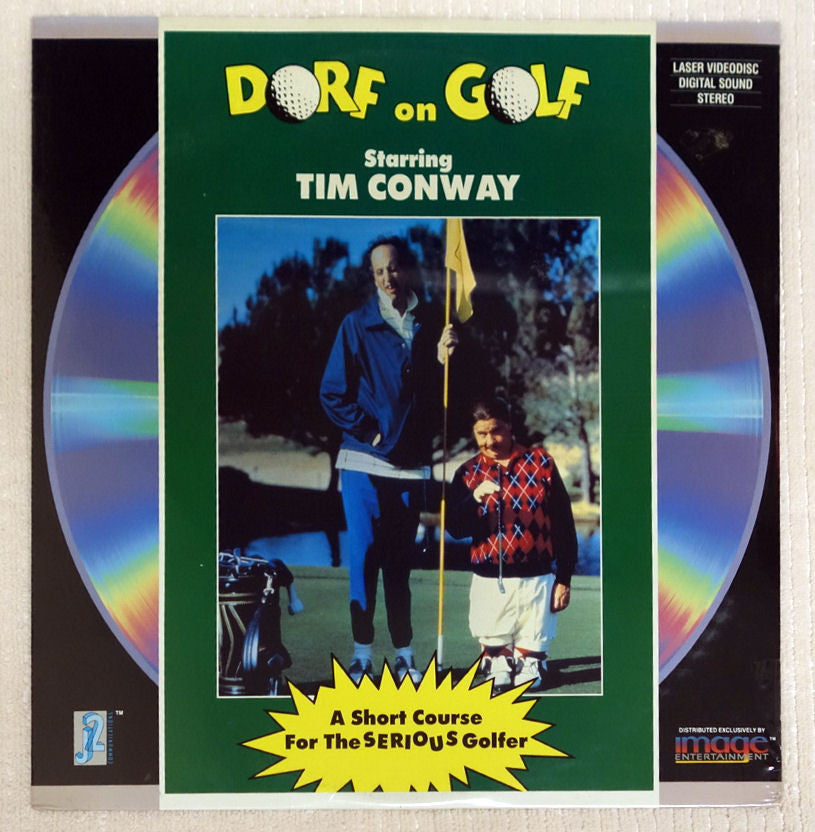 Dorf On Golf Laserdisc - Front Cover