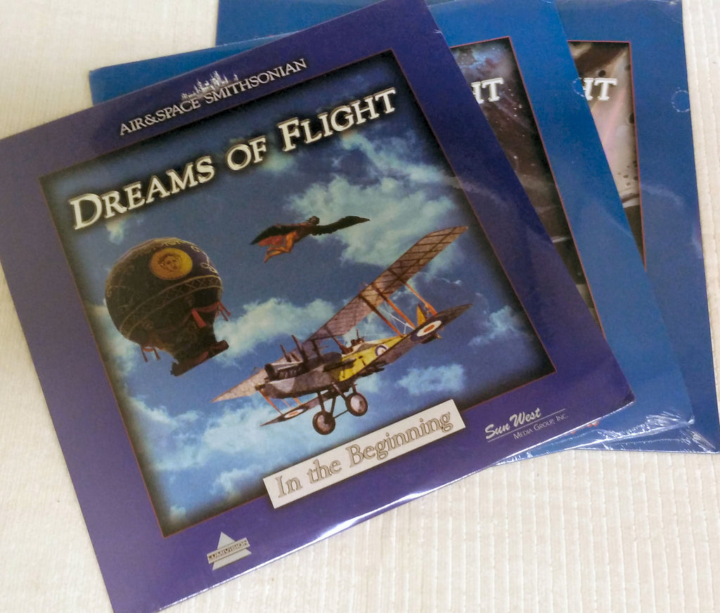 Dreams Of Flight Smithsonian Laserdisc Series