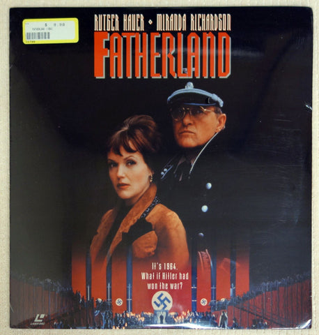 Fatherland - Laserdisc - Front Cover