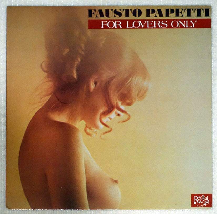 Fausto Papetti ‎– For Lovers Only - Front Cover - Vinyl Record