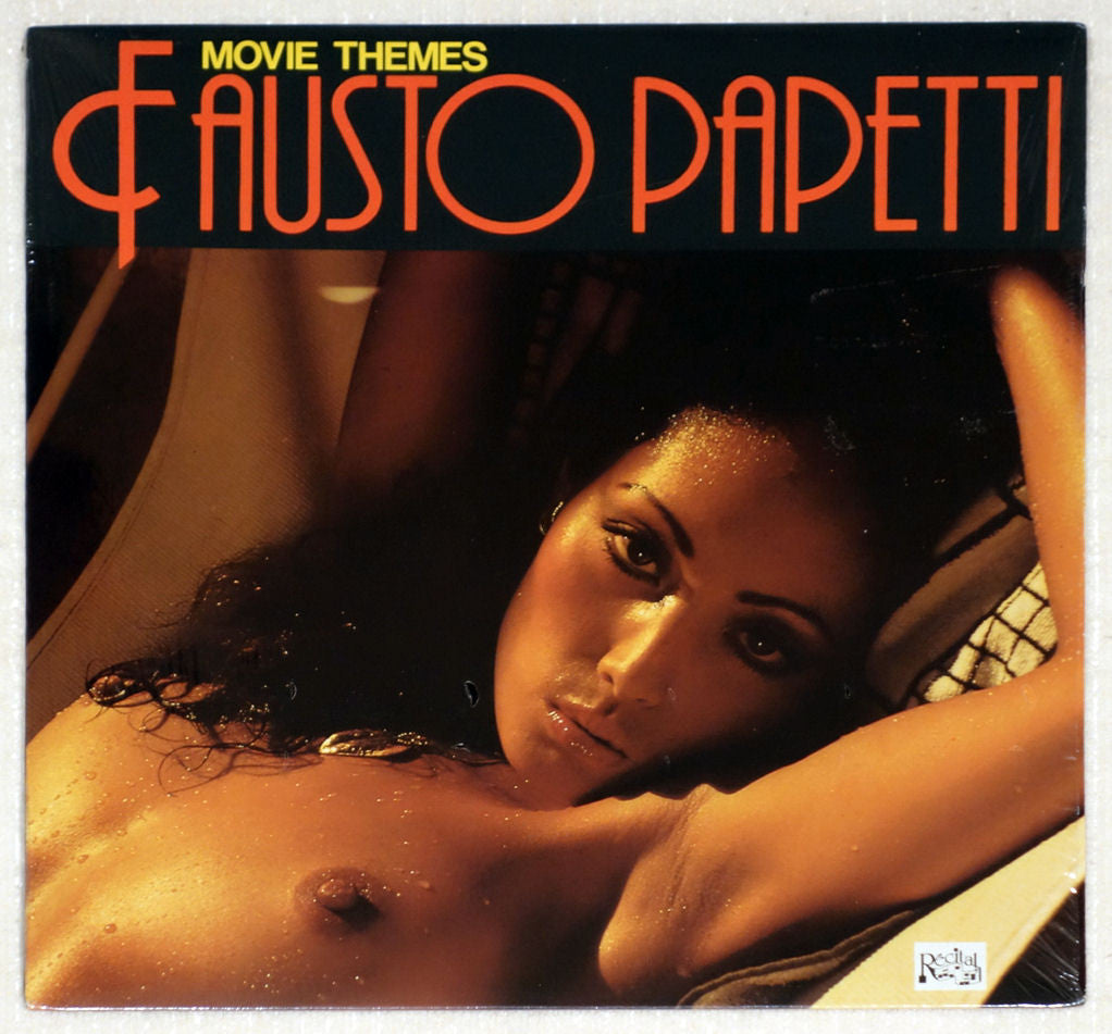 Fausto Papetti ‎– Movie Themes - Front Cover - Vinyl Record