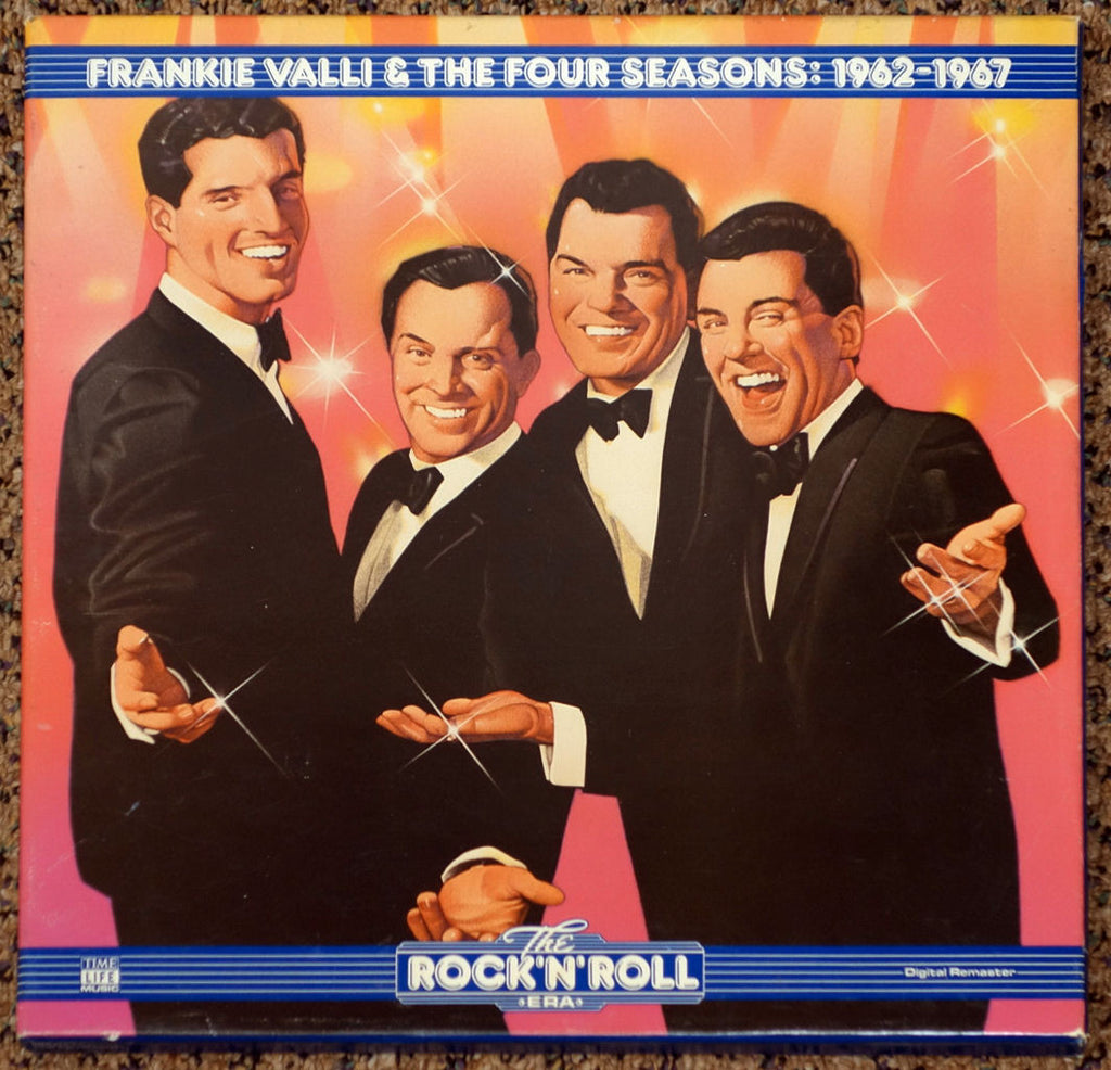 Frankie Valli & The Four Seasons 1962-1967 - Front Cover - Vinyl Record Boxset