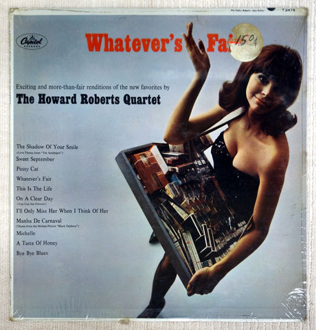 Front album cover for Howard Roberts vinyl record Whatever's Fair.