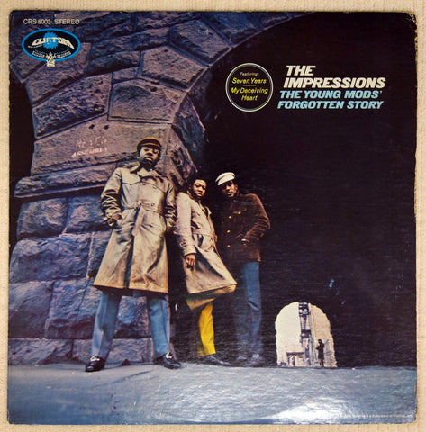 Impressions ‎– The Young Mods Forgotten Story - Vinyl Record - Front Cover