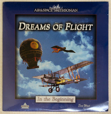 Dreams of Flight Series: In The Beginning - Laserdisc - Front Cover