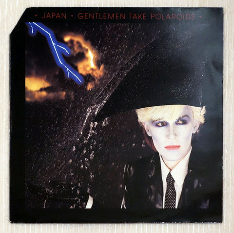 Japan ‎– Gentlemen Take Polaroids - Front Cover - Vinyl Record UK Pressing