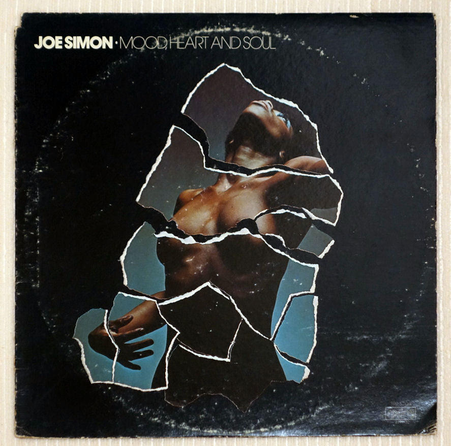 Joe Simon ‎– Mood, Heart And Soul - Front Cover - Vinyl Record