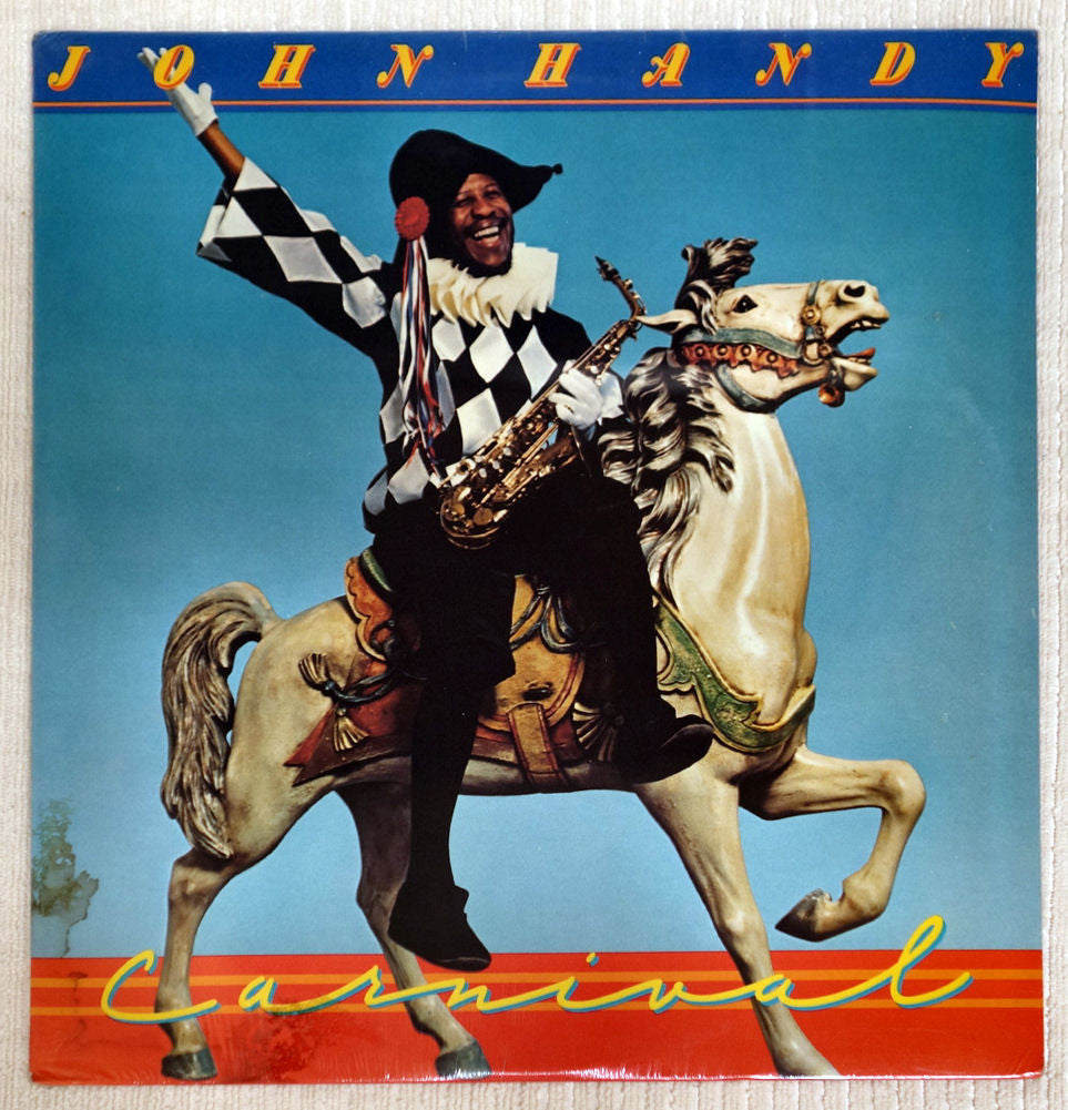 Front album cover to John Handy vinyl record Carnival.