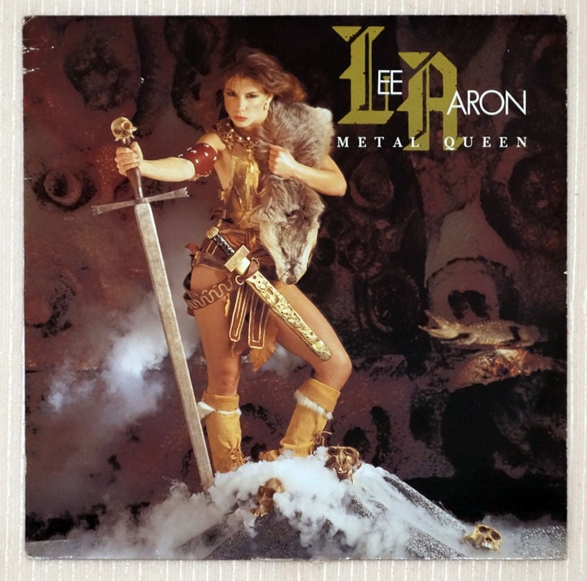 Lee Aaron ‎– Metal Queen - Front Cover - Vinyl Record