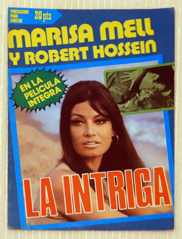 Cover for Photo Novella for a film starring Marisa Mell