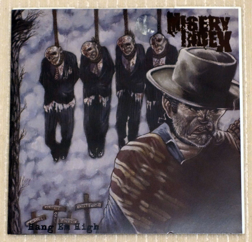 Misery Index ‎– Hang Em High - Front Cover - Vinyl