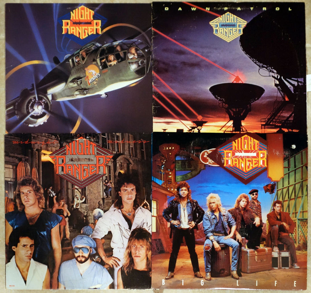 Night Ranger - Vinyl Record Collection