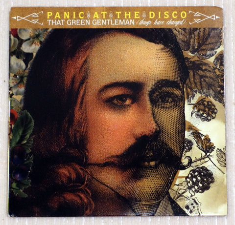 Panic At The Disco ‎– That Green Gentleman - Front Cover - Vinyl SIngle