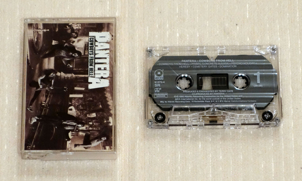 Pantera ‎– Cowboys From Hell - Cassette