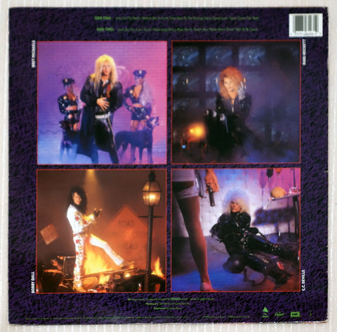 Poison  Open Up And Say ...Ahh! Back Cover Vinyl Record
