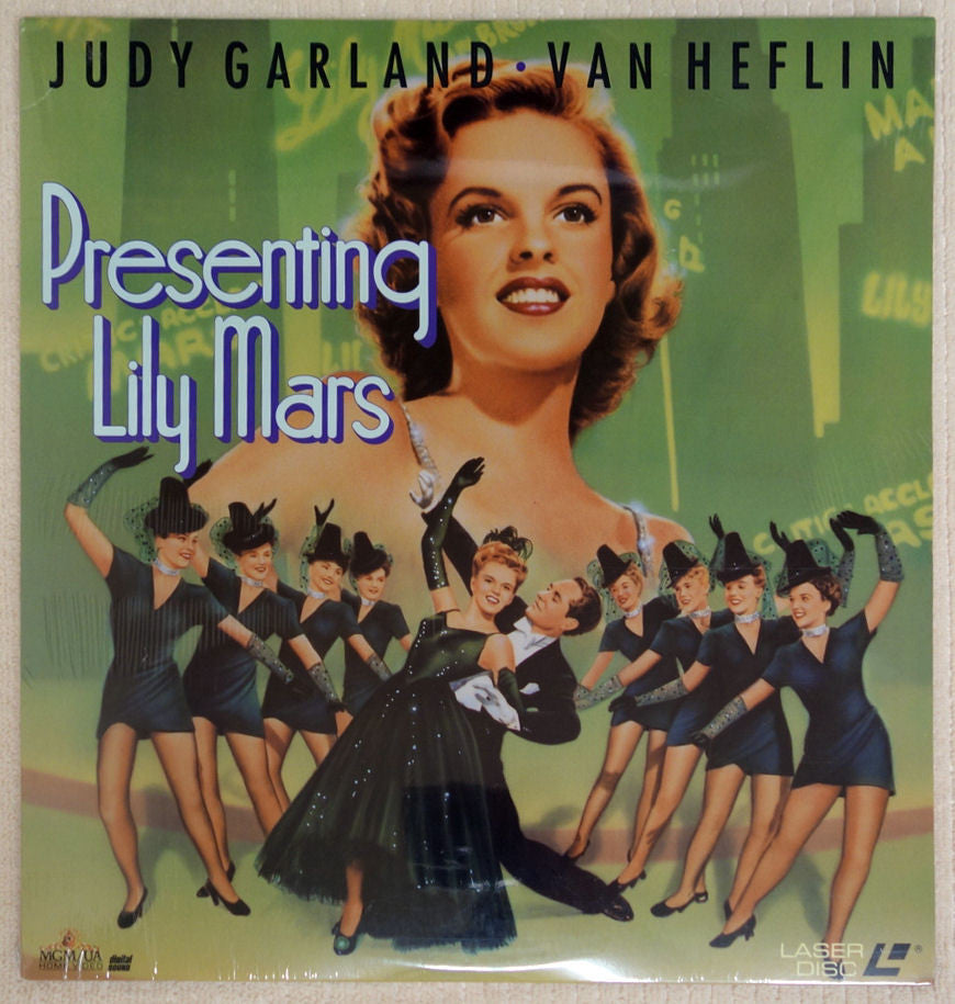 Presenting Lily Mars - Laserdisc - Front Cover