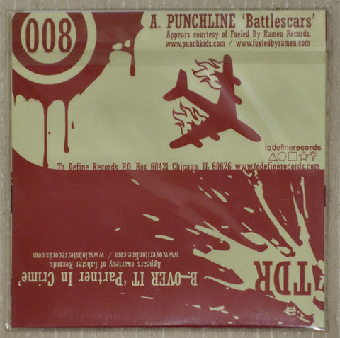 Punchline-Over It - Vinyl Single - Back Cover