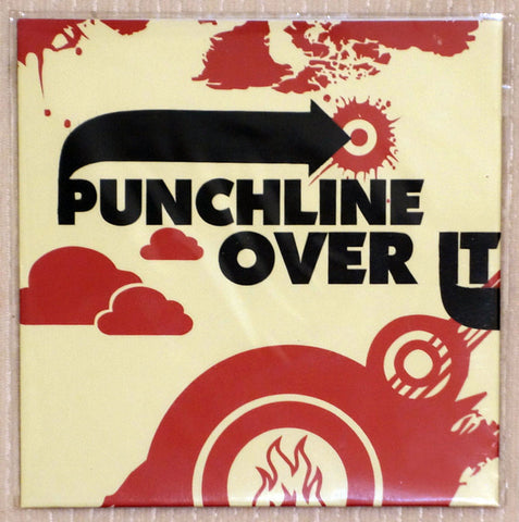 Punchline-Over It - Vinyl Single - Front Cover