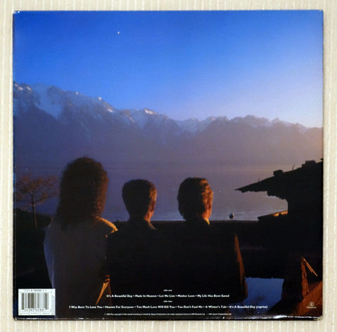 Queen ‎– Made In Heaven - Back Cover - Vinyl Record