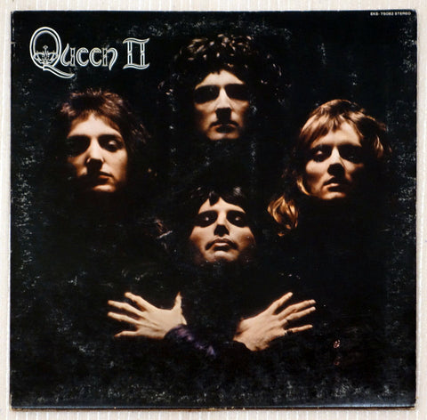 Queen ‎– Queen II - Front Cover - Vinyl Record