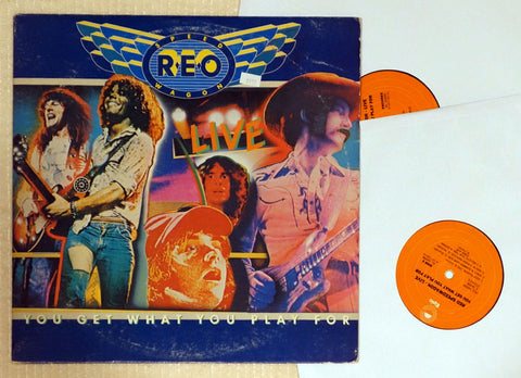 REO Speedwagon - You Get What You Play For - Vinyl Record