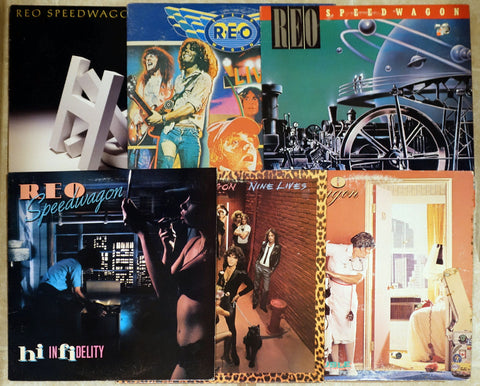 REO Speedwagon - Vinyl Record Collection