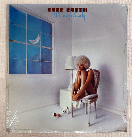 Front album cover to Rare Earth vinyl record Midnight Lady.