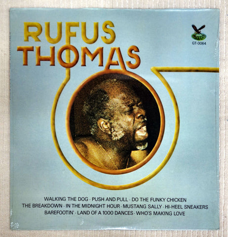 Front album cover for Rufus Thomas vinyl record.