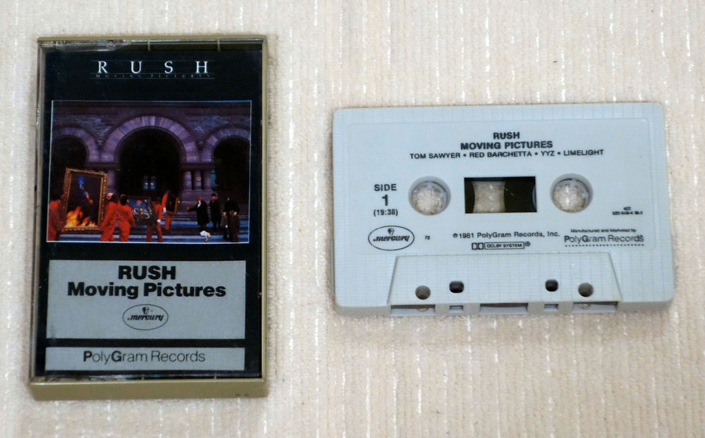Rush - Moving Pictures - Cassette