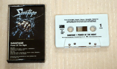 Savatage ‎– Power Of The Night (1985)