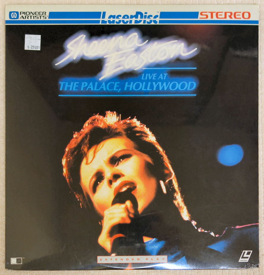 Sheena Easton Live at the Palace - Laserdisc - Front Cover