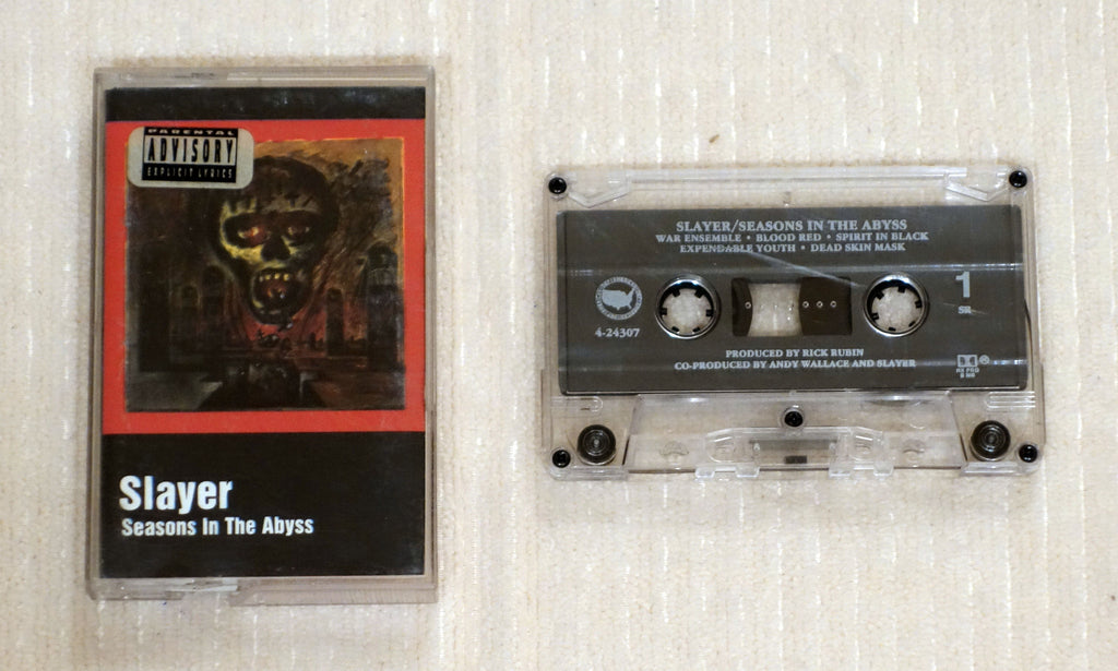 Slayer ‎– Seasons In The Abyss - Cassette