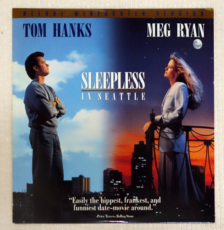 Sleepless In Seattle laserdisc front cover
