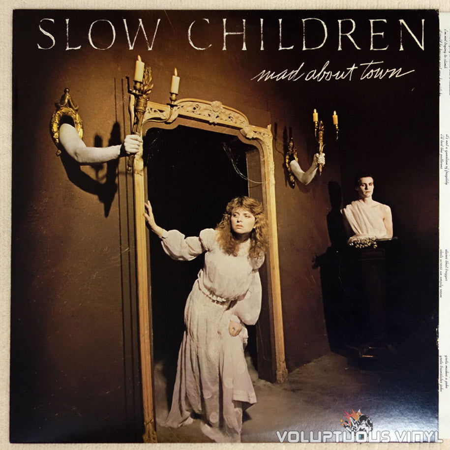 Slow Children ‎– Mad About Town - Vinyl Record