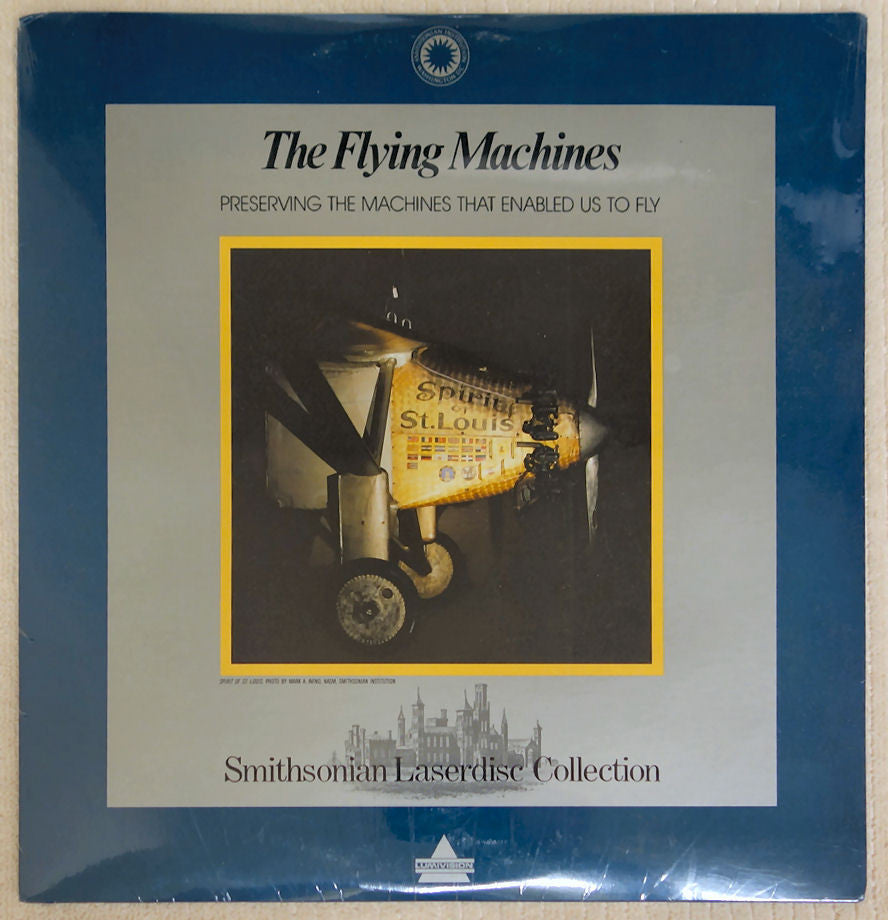 Smithsonian Flying Machines - Laserdisc - Front Cover