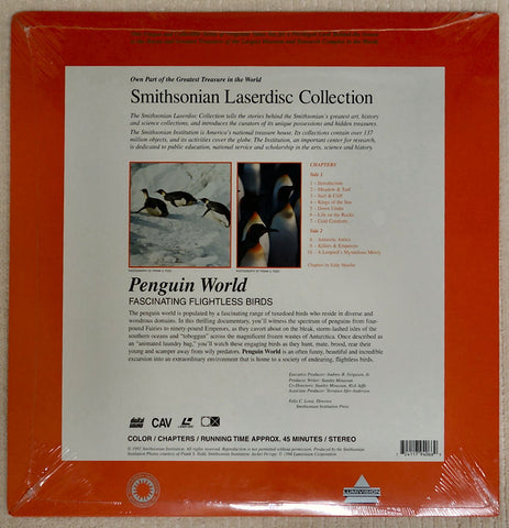 Smithsonian Penguin World - Laserdisc - Back Cover