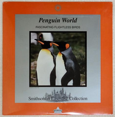 Smithsonian Penguin World - Laserdisc - Front Cover