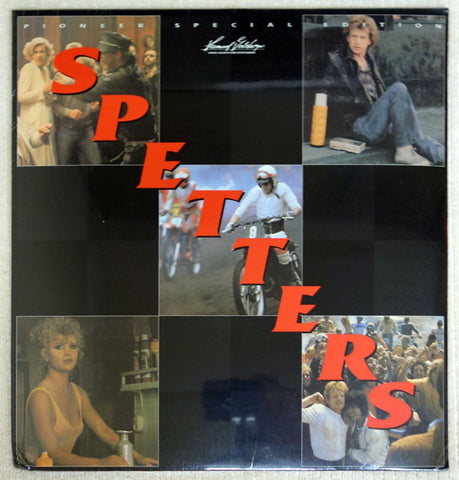 Spetters - Laserdisc - Front Cover