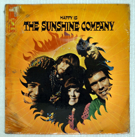 Front album cover to The Sunshine Company vinyl record Happy Is.