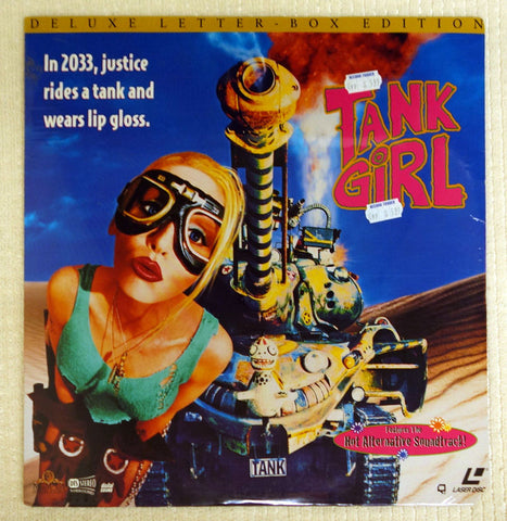Tank Gril Laserdisc - Front Cover